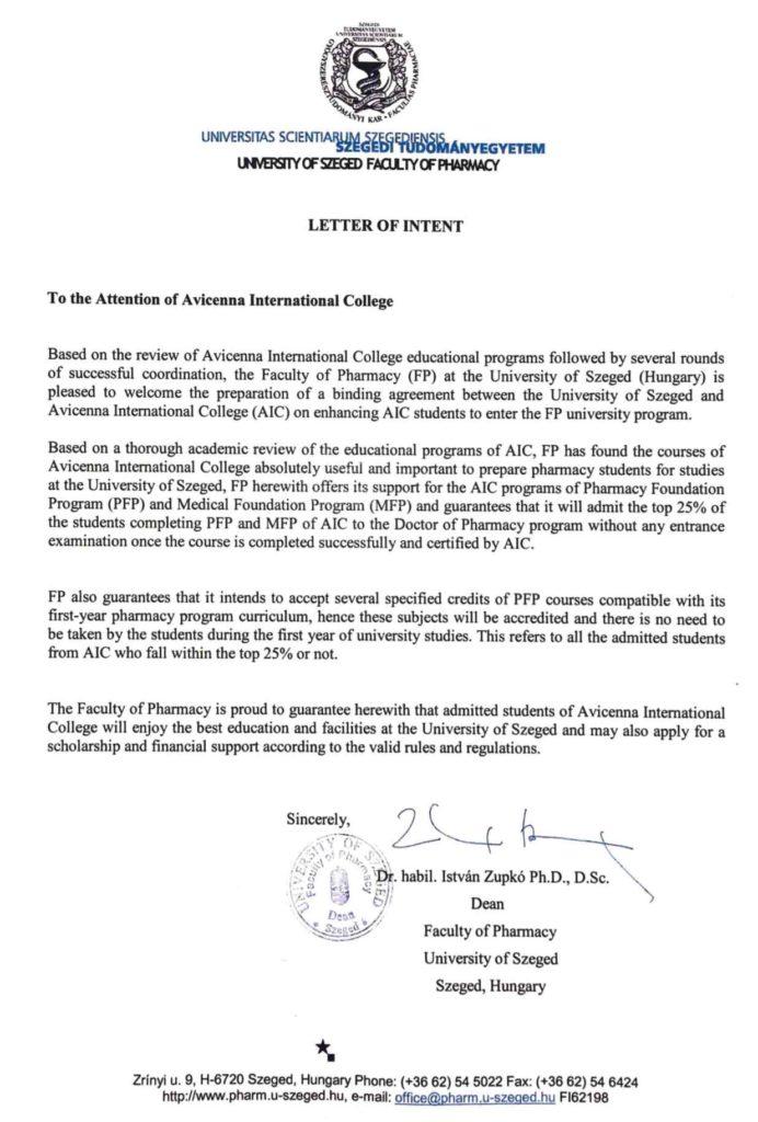 Szeged-University-Letter